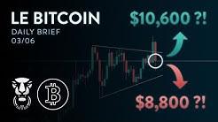 BITCOIN LE PIÈGE BAISSIER AVANT LA HAUSSE DIRECTION $10,600 ?! - Analyse Crypto FR Bitcoin Altcoin