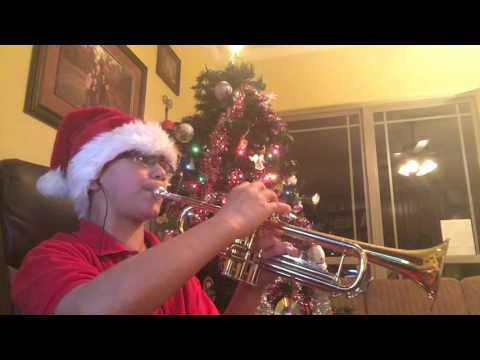 We Wish You Merry Christmas - Trumpet Solo