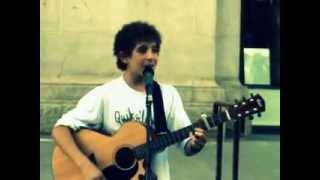 Working class man (Jimmy Barnes) - David Lazarus 14 years old Busking Perth City