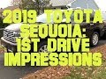 2019 Toyota Sequoia: First Drive Impressions