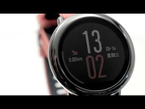 Huami Amazfit Smartwatch Pace — Review in English!