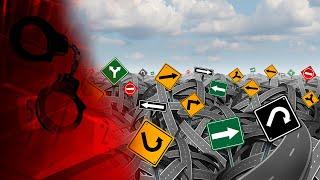 Українці полюбляють красти - нові дорожні знаки просто погано лежали