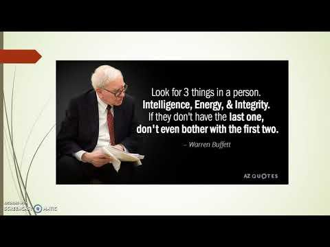 Warren Buffett Presentation
