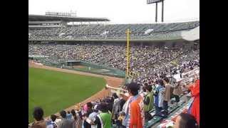 2013.4/14 オリックスvs日ハム(ほっともっと) 日ハム 片岡 応援歌.
