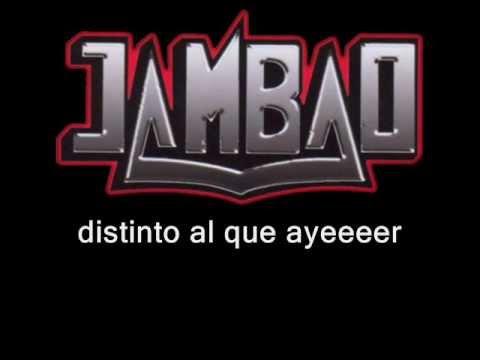 VIDEO: Jambao - yo sin ti (letra)