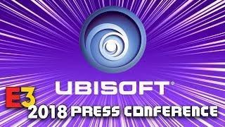 FULL UBISOFT PRESS CONFERENCE [E3 2018] - LIVE REACTION w/runJDrun