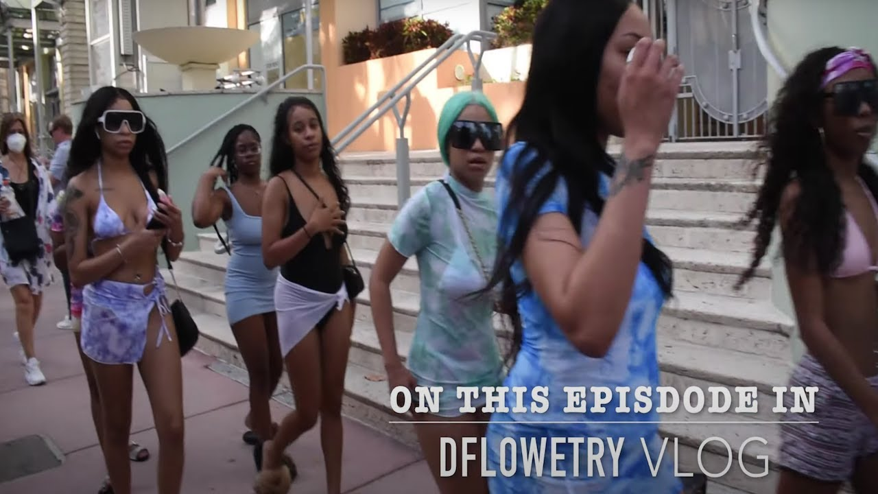 DFlowetry Vlog   I Went To Miami To See Floyd MayWeather Vs. Logan Paul Fight + Crazy Night