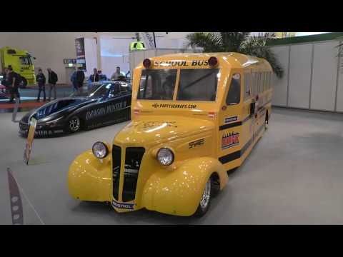 25 000 лошадиных сил: в Германии представили супермощный автобус