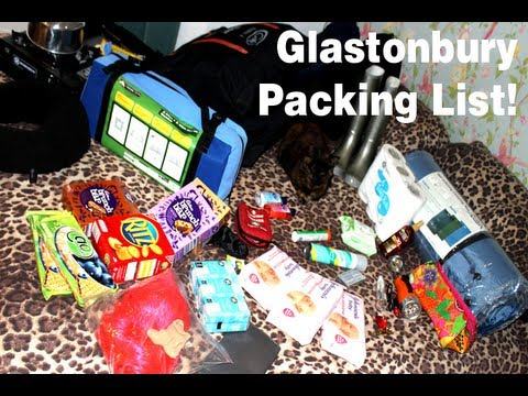 Our Glastonbury Festival Pack List