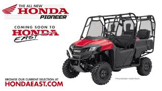 2014 Honda Pioneer Side By Side Utility Vehicle