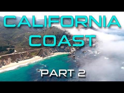 CALIFORNIA COAST (BIG SUR & HIGHWAY 1) DRONE VIDEO - PART 2
