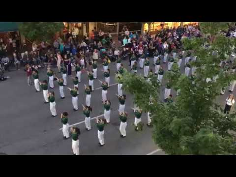 4   Olympic View Middle School Band ~ Lilac Parade 2018 05 19   4of4