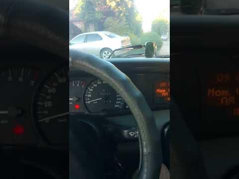 Холостой ход Opel Omega B X25xe