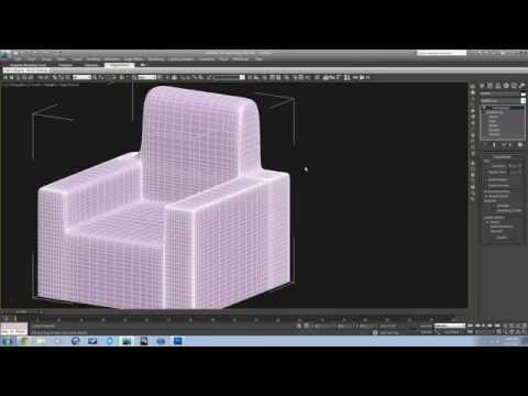 3ds Advanced Modifiers for Making Furniture and Doing Arch Viz