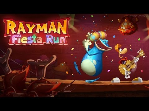 Rayman Fiesta Run Android GamePlay Part 2 (HD) [Game For Kids]