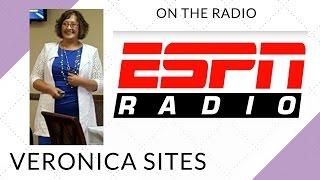 Live on ESPN Radio | Veronica Sites