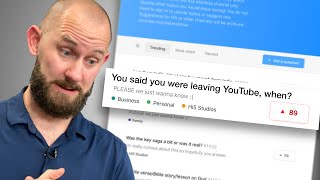 When Are You Leaving Youtube?