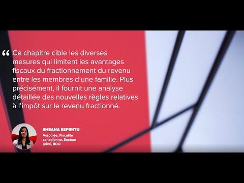 Auteurs d'un ouvrage sur la fiscalité des sociétés privées #WeWroteTheBookOnThat | BDO Canada