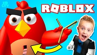 ROBLOX: Angry Birds Obby + Secret Winner's Circle Belly Button!