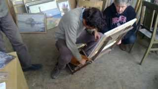 Folding Russian Chair-easel