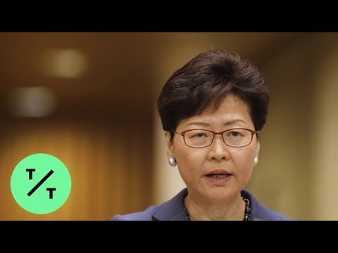 Hong Kong's Carrie Lam Suspends Controversial Extradition Bill