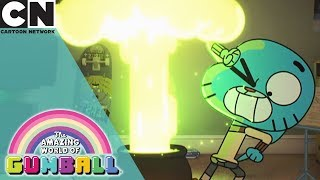 The Amazing World of Gumball | Crafting a Shrinking Potion | Cartoon Network