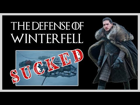 Why The Defense Of Winterfell Actually Sucked — Lights Camera Barstool