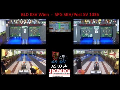 SLH KSV Wien vs. SPG SKH/Post SV 1036