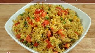 Quinoa Vegetable Pilaf (pulav) Gluten Free Recipe By Manjula