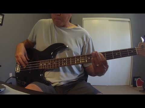 """""""Steal Away""""(Robbie Dupree)Bass Cover"""