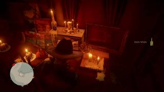 RDR2 Online Life Cycle 1 Antique Alcohol Bottles   Scotch Whiskey   Devils Cabin