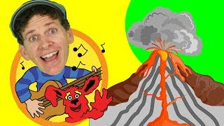 Learn About Volcanoes Song for Kids | Sing Along with Matt | Learn English Kids