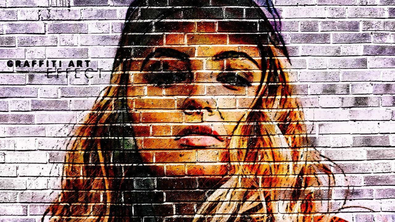 Photoshop Tutorial Graffiti Art Effect