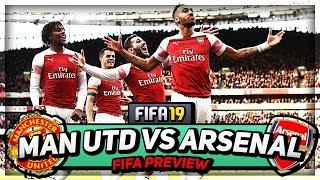 CAN WE BEAT UNITED??? | Frank vs FIFA 19 | Man United vs Arsenal