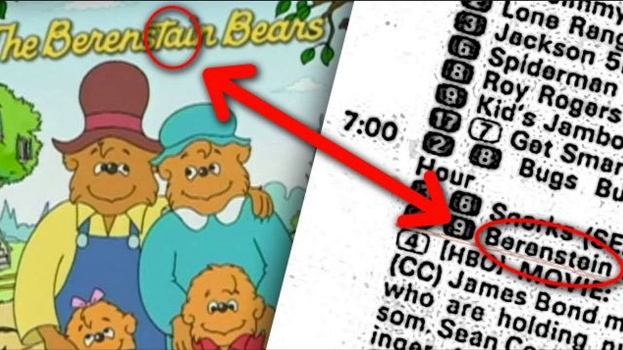 Why The Berenstain Bears Really Are The Berestein Bears You Remember