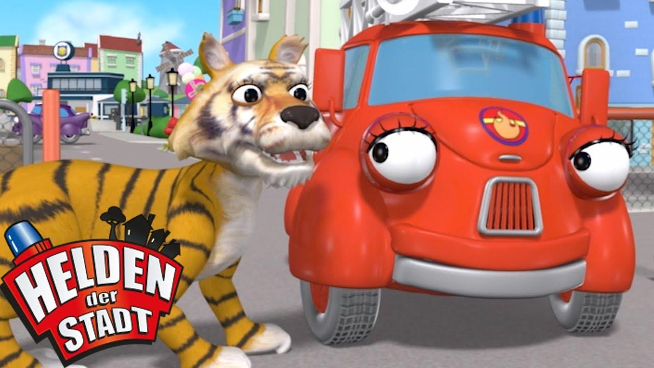 Die Helden Der Stadt Der Tiger Ist Los Cartoons Für Kinder Zeichentrick Für Kinder