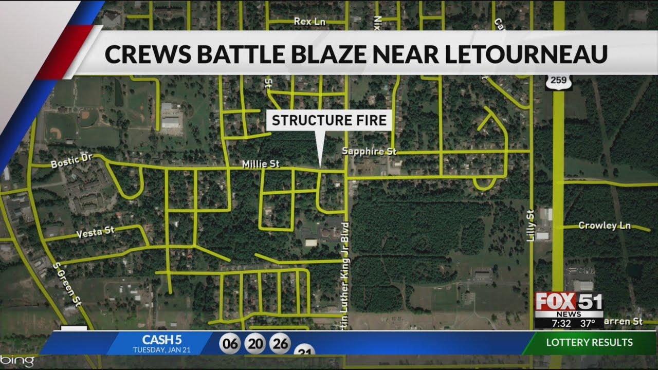 letourneau university campus map Crews Responding To Fire Just Off Letourneau University Campus letourneau university campus map