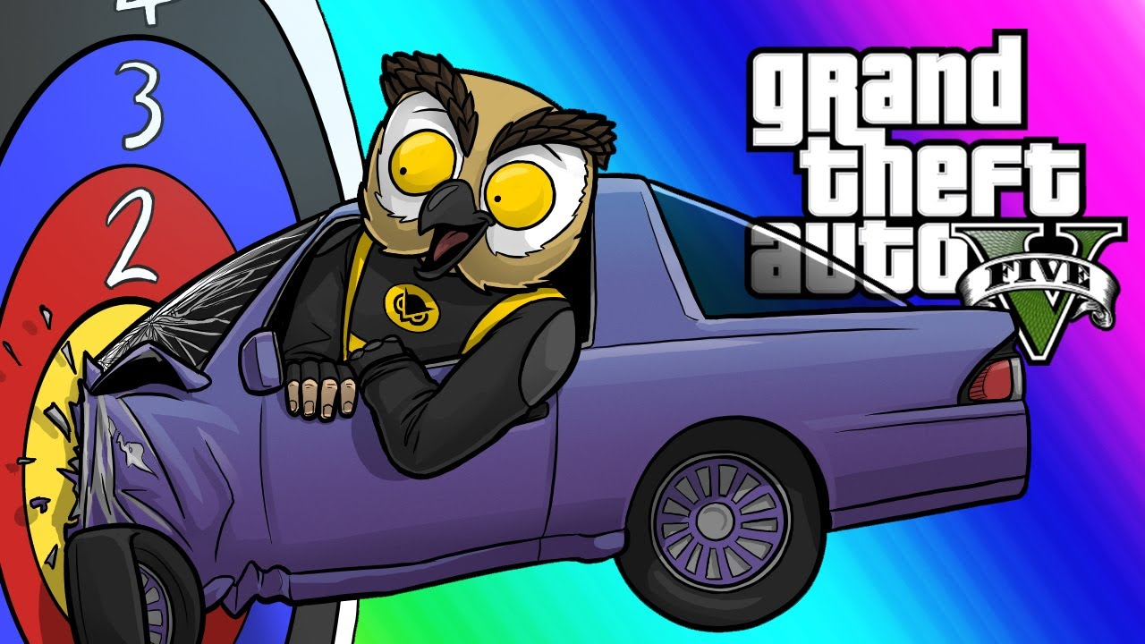 GTA 5 Online Funny Moments - Extreme Car Darts! (Overtime Rumble Game Mode) thumbnail