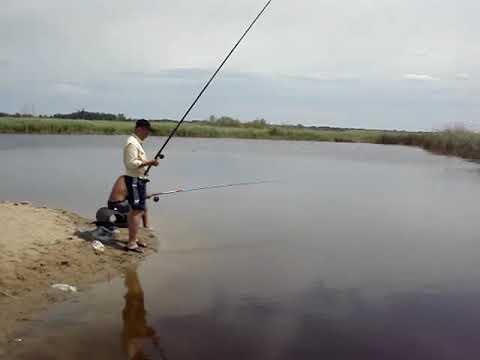 Рыбалка в Соль-Илецке с друзьями в 2009г.