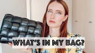 WHAT'S IN MY BOTTEGA VENETA CASSETTE BAG?