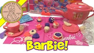 Barbie Tea Party Fun Dough Set #6251, 2003 Rose Art (Part 2 - Using The Set)