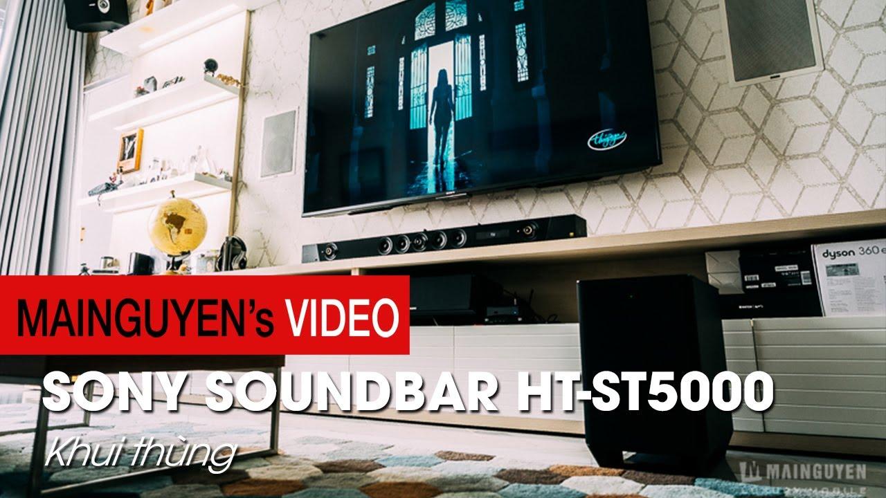Đập thùng HT-ST5000 - Dàn soundbar 'chất lượng 721' mới của Sony - www.mainguyen.vn