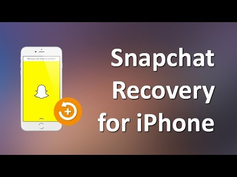 How to Recover Snapchat Photos and Videos on iPhone X/8/7 ...