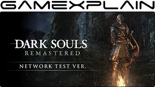 Dark Souls Remastered for Nintendo Switch - Network Test Version Livestream!