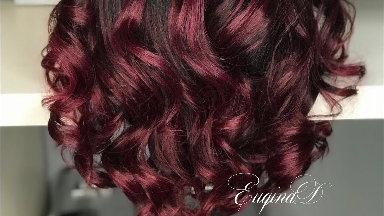 Custom Wig Color Using Pulpriot Jam Velvet And Fireball Youtube