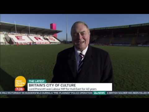 John Prescott's Tour of Hull | Good Morning Britain