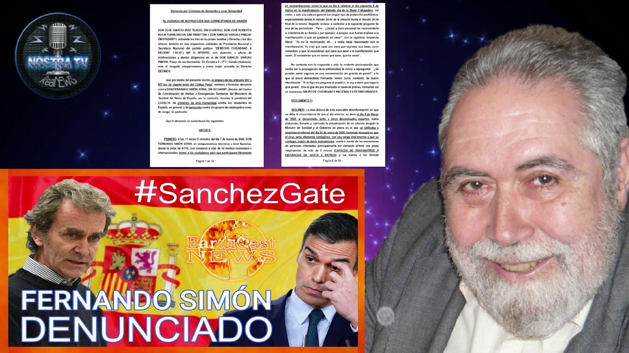 Fernando Simón denunciado por crimenes contra la humanidad