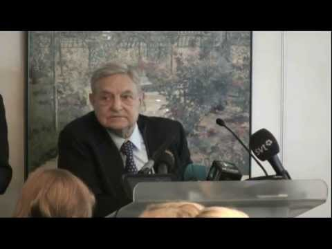 George Soros at the World Economic Forum, 2012, Questions & Answers with Davos Media Leaders