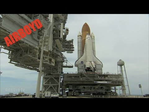 Space Shuttle Atlantis Rollout STS-125 (2008)