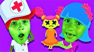 Miss Zombie had a Dolly Song - Nursery Rhymes and Children`s Songs